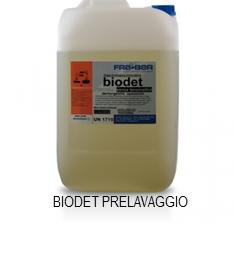 Biodet prelavaggio