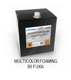 Multicolor Foaming B5 Fuxia