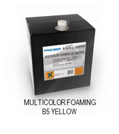 Multicolor Foaming B5 Yellow
